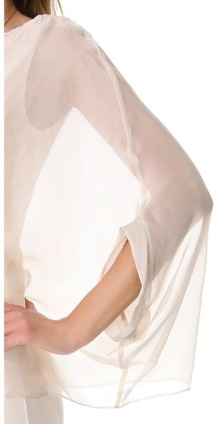 Temperley London Long Isodora Jersey Dress