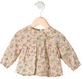 Bonpoint Girls' Printed Long Sleeve Top