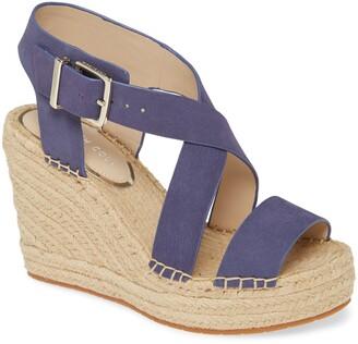 Kenneth Cole New York Olivia Espadrille Wedge Platform Sandal