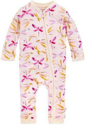 Burt's Bees Dragonfly Organic Baby Zip Front Jumpsuit
