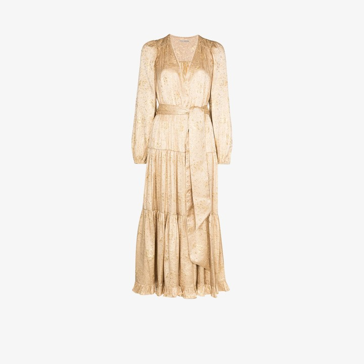 Ulla Johnson Helena silk tie waist dress