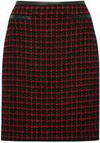 M&Co Red check skirt