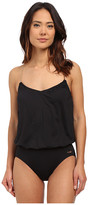 Vince Camuto Polish Blouson Maillot w/ Removable Soft Cups
