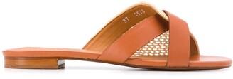 Clergerie Woven Strap Sandals