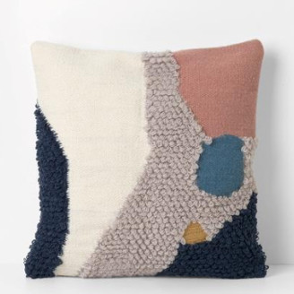 ferm LIVING 50 x 50cm Wool Geometric Shapeloop Landscape Cushion - 50x50cm | wool