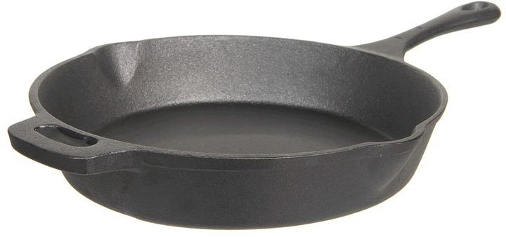 Emerilware Emeril - Cast Iron 12 Skillet (Black) - Home