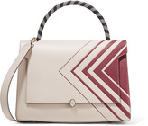 Anya Hindmarch Bathurst printed textured-leather tote