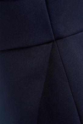 Jay Godfrey Wrap-effect Satin Gown