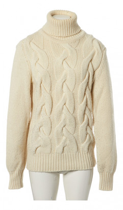 Bally Ecru Wool Knitwear