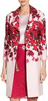 St. John Mira Floral Jacquard Jacket