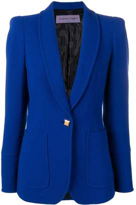 Ungaro Pre-Owned structured shoulders blazer