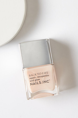 Nails Inc Back To Life Base Coat By in Pink