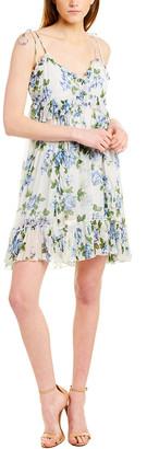 The Kooples Crinkle Antique Flowers Dress