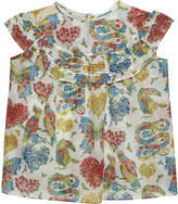 Gucci Floral print cotton blouse 4-12 years