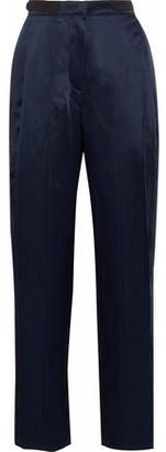 Derek Lam Satin-crepe Straight-leg Pants