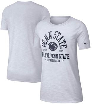 Nike Women's White Penn State Nittany Lions Cotton Slub Performance T-Shirt