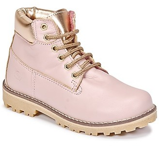 Citrouille et Compagnie HICHOU girls's Mid Boots in Pink