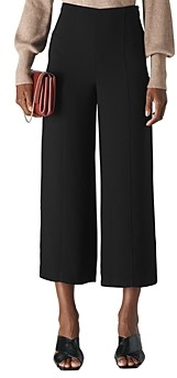 Whistles Cropped Wide-Leg Pants