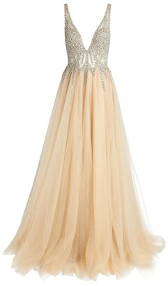 Jovani Sequin Tulle Gown