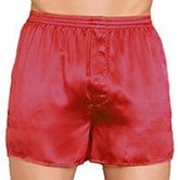 Intimo Men's Classic Silk Boxers - Big & Tall