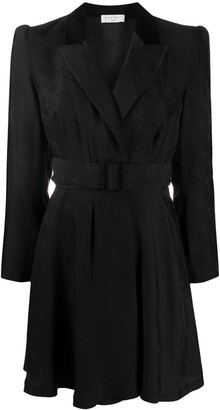 Sandro Belted Blazer Dress