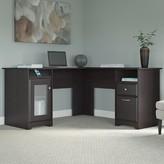 Hillsdale L-Shape Desk Red Barrel Studio Color: Espresso Oak