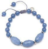 Lola Rose Wilow Bluebird Quartzite Bracelet of Length 22-30cm