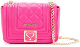 Love Moschino quilted crossbody bag - women - Polyurethane - One Size
