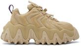 Eytys Tan Suede Halo Sneakers