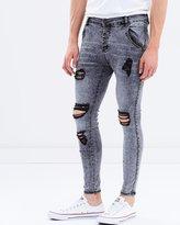 SikSilk Skinny Low Rise Jeans