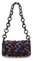 M Missoni Chain Link Woven Shoulder Bag