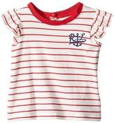 Ralph Lauren Jersey Anchor Tee Girl's T Shirt