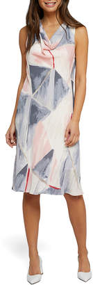 Nic+Zoe Sail Away Cowl-Neck Sleeveless Dress