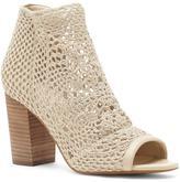 Jessica Simpson Rianne Stretch Crochet Shootie Sandal