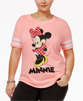 Hybrid Trendy Plus Size Minnie Graphic T-Shirt