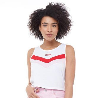 Levi's Womens Florence Tank White
