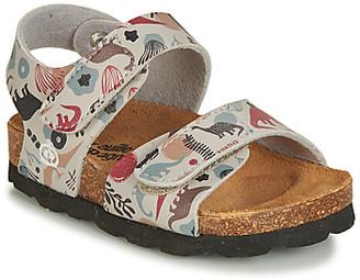 Citrouille et Compagnie JAKIRA girls's Sandals in Beige