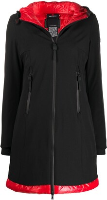 Peuterey Contrast Panel Raincoat