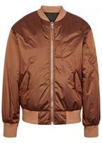 Helmut Lang Copper Reversible Bomber Jacket