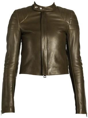 Bottega Veneta Quilted Leather Biker Jacket