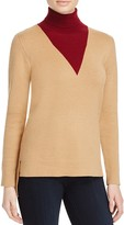 Timo Weiland Lauren Layered Effect Turtleneck Sweater