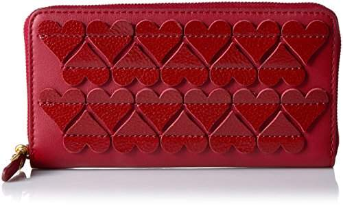 Marc Jacobs Stitched Hearts Standard Continental Wallet