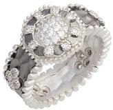 Freida Rothman 'Contemporary Deco' Pavé Band Ring