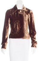 Louis Vuitton Velvet Moto Jacket