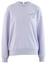 Proenza Schouler Sweatshirt in cotton