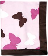 CoCalo Butterflies Blanket - Pink