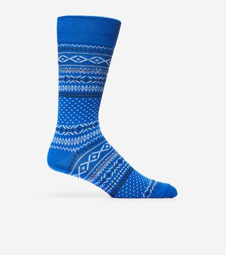Cole Haan Classic Fair Isle Crew Socks