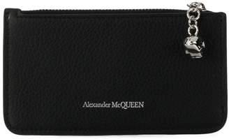 Alexander McQueen skull zipped cardholder