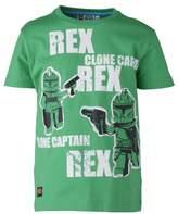 Lego Wear Boys Crew Neck Short Sleeve T-Shirt Green - Grnn (863 GREEN)