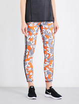 The Upside Sea of Koi jersey leggings